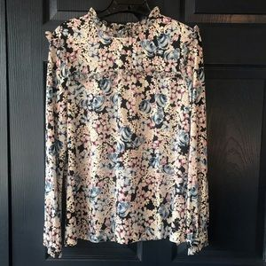Karl Lagerfeld Floral Blouse